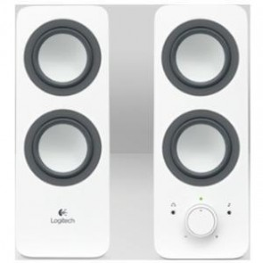 LOGITECH 980-000851 | Z200 Multimedia Speakers - Snow White