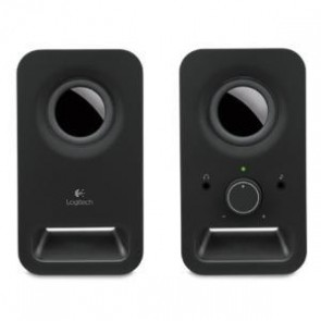 LOGITECH 980-000862 | Z150 Multimedia Speakers- Midnight Black