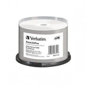 VERBATIM 43754 | DVD+R DL 8.5GB 50Pk WHT THERM 2.4x