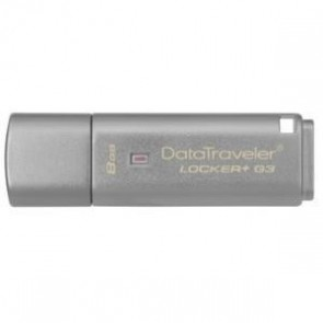 KINGSTON DTLPG3/8GB | 8GB USB 3.0 DT Locker G3 w/Automatic Da