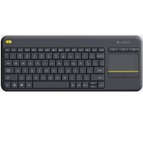 LOGITECH 920-007165 | K400 PLUS WIRELESS TOUCH KEYBOARD BLACK