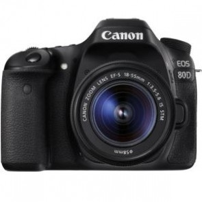 CANON 80DKIS | 80DKIS EOS 80D SINGLE KIT WITH EFS18-55S