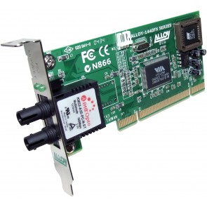 ALLOY 1440LSTB | PCI 100Base-FX Multimode NIC (ST) LP Bracket, PXE