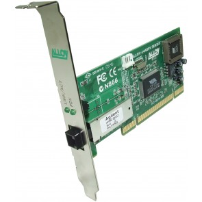 ALLOY 1440MTB | PCI 100Base-FX Multimode NIC (MT-RJ) FH Bracket, PXE