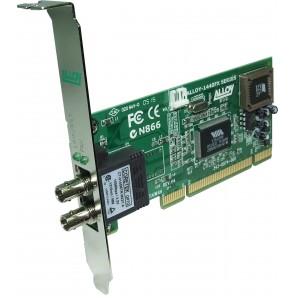 ALLOY 1440STRB | PCI 100Base-FX Multimode NIC (ST-R) FH Bracket, PXE