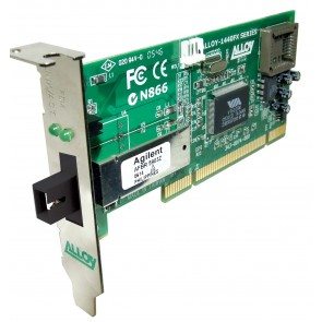 ALLOY 1440WDMS5 | PCI 100Base-FX WDM NIC (SC), FH Bracket, 20Km