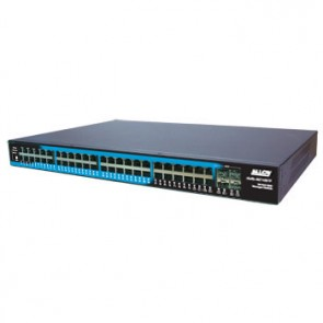 ALLOY AMS-48T4SFP | Layer 2+ SNMP Managed Gigabit Switch with 44x UTP, 4x Paired UTP/SFP Ports