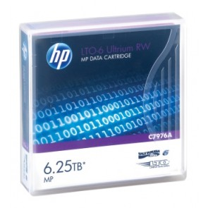 HP C7976A | LTO-6 Ultrium 6.25 TB MP RW Data Cart