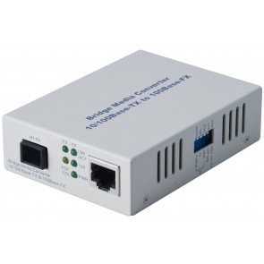 ALLOY FCR200MT | 100Mbps Standalone/Rackmount Media Converter 100Base-TX (RJ-45) to 100Base-FX (MT-RJ), 2Km