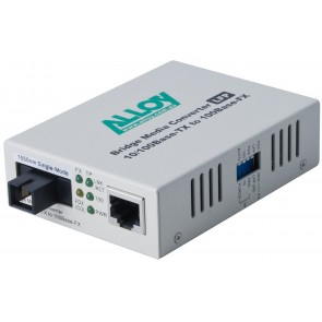 ALLOY FCR200S5.100 | 100Mbps Standalone/Rackmount Media Converter 100Base-TX to 100Base-FX 1550nm WDM, 100Km