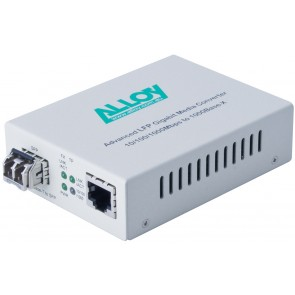 ALLOY GCR2000SFP | Gigabit Standalone/Rackmount Media Converter 1000Base-T (RJ-45) to 1000Base-X SFP