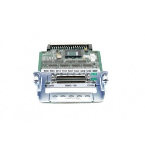 CISCO HWIC-16A= | HWIC-16A=-16Port Async HWIC