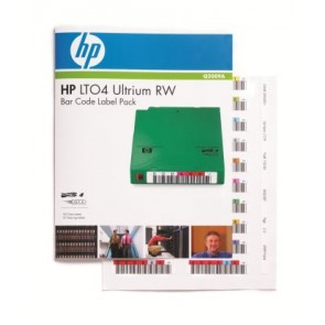 HP Q2009A | LTO4 ULTRIUM RW BAR CODE LABEL PACK