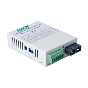ALLOY SCR460SC-2 | Serial to Fibre Standalone/Rack Converter RS-232/422/485 Terminal to Multimode SC, 2Km
